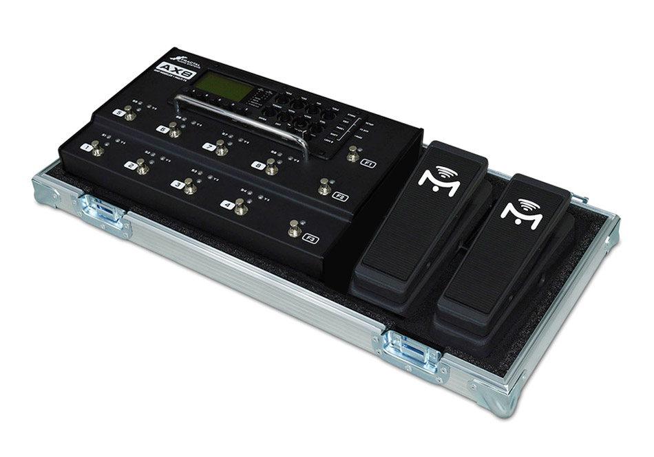 Fractal AX8 with double Mission pedals