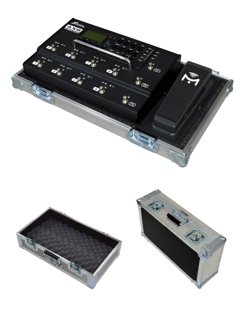 Fractal Audio Systems Axe Fx II flight case solution BY CASEMAN