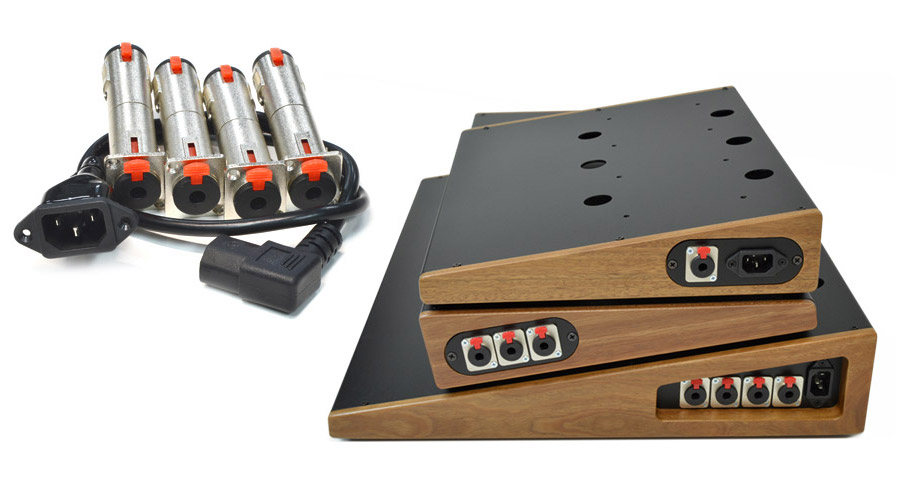 Gentleman pedalboard power and signal accessories.
