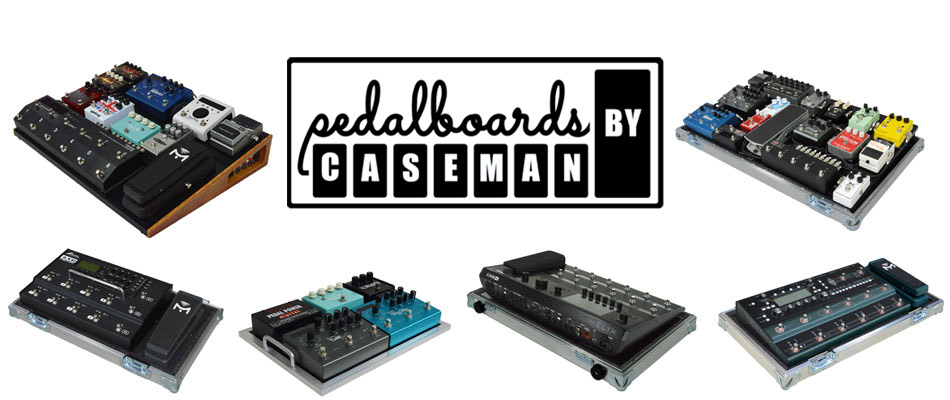 Many ways to build a pedalboard at Pedalboards By Caseman